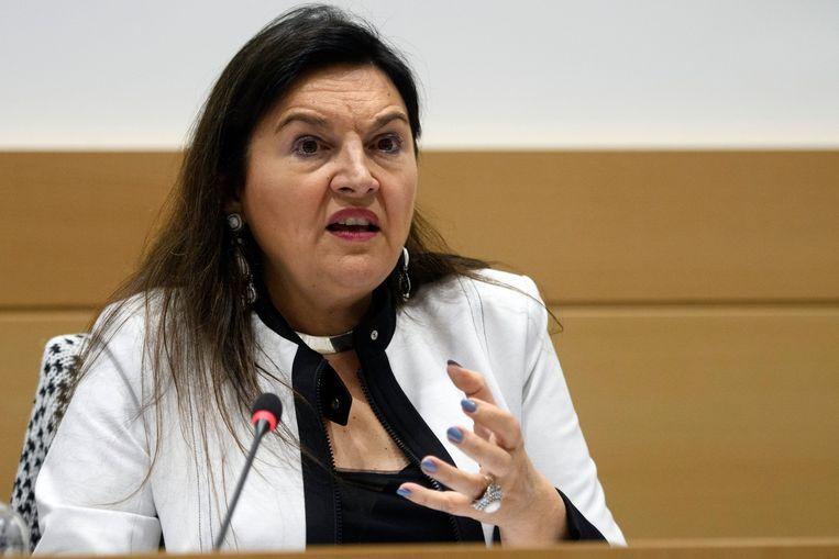 Federaal minister van Energie Marie Christine Marghem