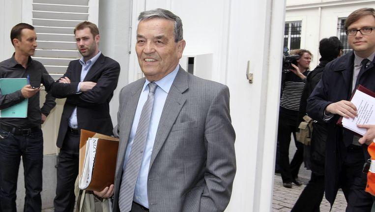 Louis Tobback, burgemeester van Leuven. Beeld BELGA