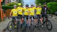 Meteen uitgeregende eerste etappe en valpartij voor vijf vrienden die Eddy Merckx achterna gaan