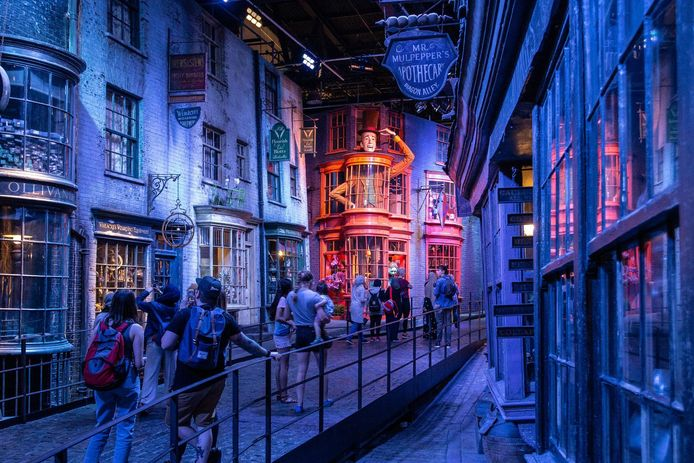Plateau de tournage, le Chemin de Traverse, Studio Tour London