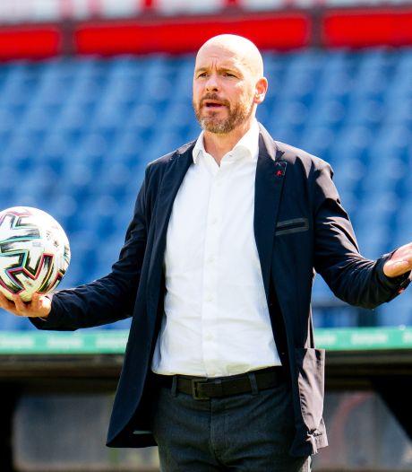 Ten Hag trots op Ajax na ruime zege: 'We hebben de hele wedstrijd gedomineerd'