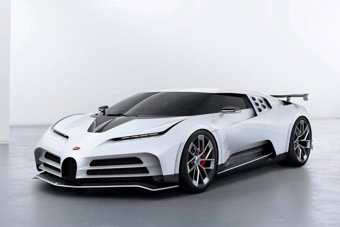 De Bugatti Centodieci van 9,5 miljoen euro.