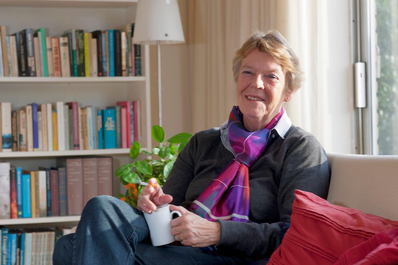 Marianne Burgman, ex-burgemeester van De Ronde Venen, blikt terug op een bewogen jaar. Wilnis, 20 december 2011. Beeld: Marlies Wessels