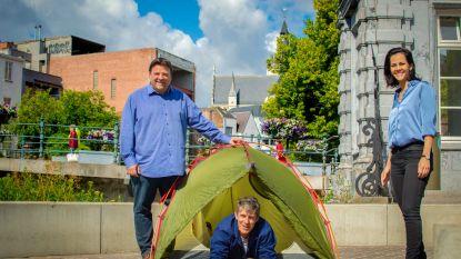 Kamperen in park of op speelplaats?: Stad zoekt organisator voor urban camping