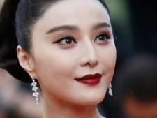 Chinese ster Fan Bingbing moet fors dokken, maar is nog steeds zoek