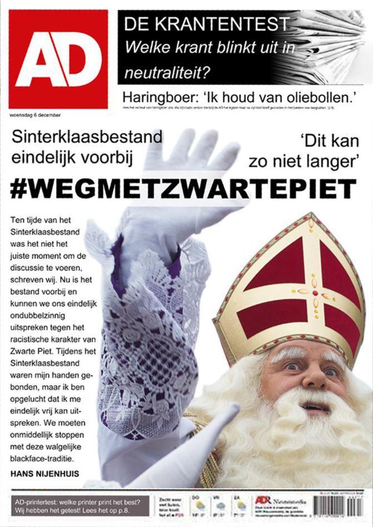 De Speld, foto Sinterklaas Beeld Bewerking: Wouter Engler (CC 4.0)