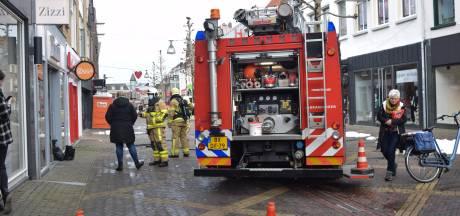 Alarm na gaslek bij telefoonwinkel in centrum Doetinchem