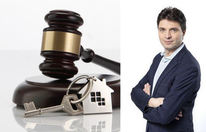Rechts op de foto: financieel expert Michaël Van Droogenbroeck