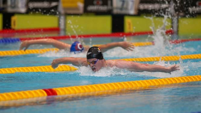 Louis Croenen stelt zijn Belgisch record op de 100m vlinderslag scherper