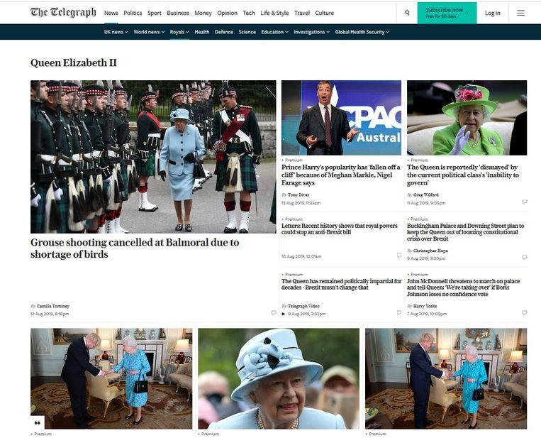 The Telegraph Beeld RV