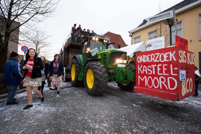 Een beeld uit de oude doos van Torhout carnaval.