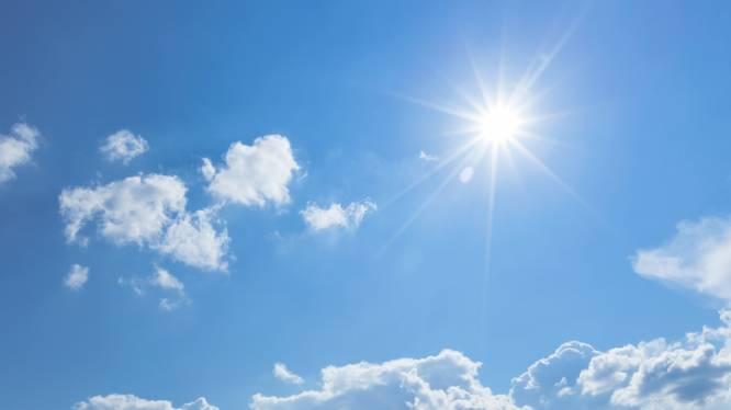 Het weer kent vandaag twee gezichten: tot 22 graden in binnenland, frisser aan zee