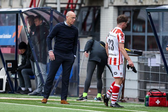 Klaas Wels wil met TOP Oss op jacht naar een zege in Amsterdam.