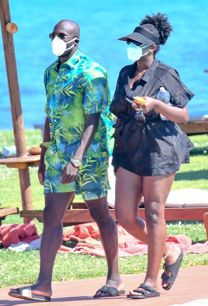 Romelu Lukaku en de Britse influencer Shani Jamilah.