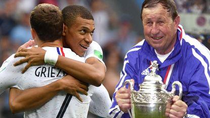 """Mythische Franse trainer heeft weinig hoop: """"Belgen hebben twee 'buitengewone' spelers, wij niet één... Griezmann? Ik moet zijn eerste geslaagde dribbel op dit WK nog zien"""""""