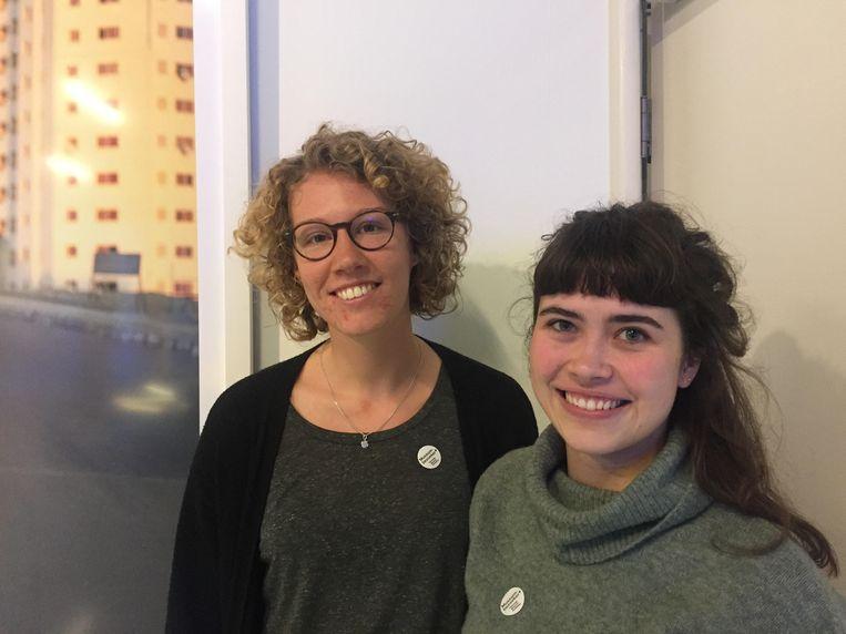 Franke (24) en Charlotte (26) Beeld Pieta Verhoeven