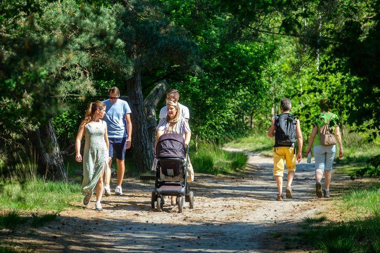 Wandelaars gaan kunnen genieten van de natuur en hopelijk de zon