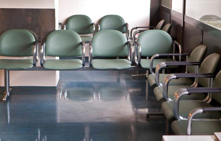 De wachtkamer in het Slotervaartziekenhuis. Beeld anp