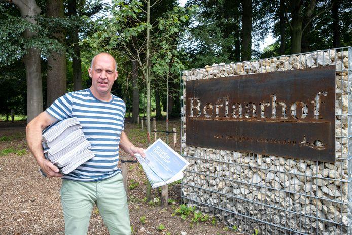 Er belanden 2.500 'Verlof in Balderhof'-krantjes in de brievenbussen.