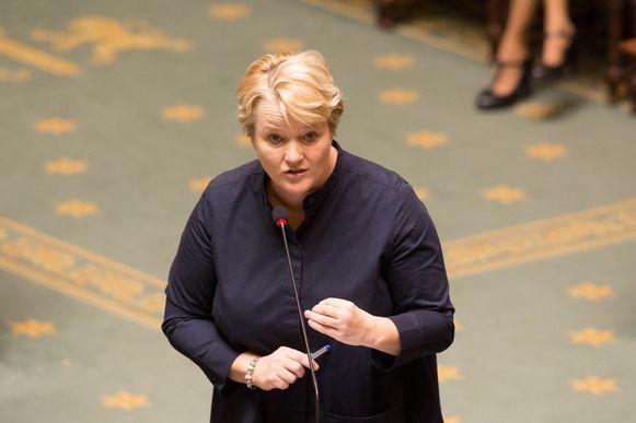 Federaal minister van Werk Nathalie Muylle.