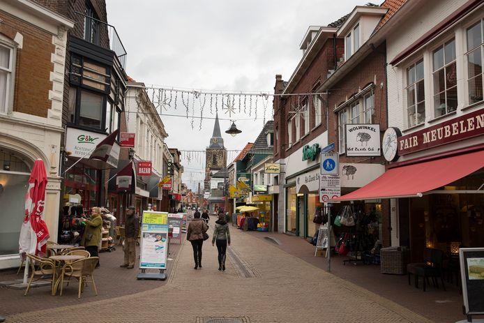 Het centrum van Winterswijk op archiefbeeld, foto ter illustratie.