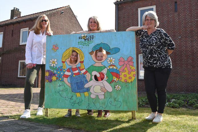 In de wijk Slotjes-West zijn er twee nieuwe buurtbewoners: Lotje en Wes. Zij beleven allerlei avonturen. Miranda Verbeek, Marie-Cecile Donders en Ellen van Ierssel brachten die twee tot leven. Buurvrouw Wendy en Roos maakten het bord.