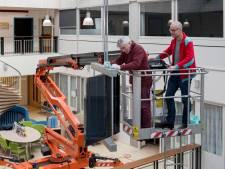 Nieuw leven voor draaiend kunstwerk in hal van ziekenhuis Rivierenland