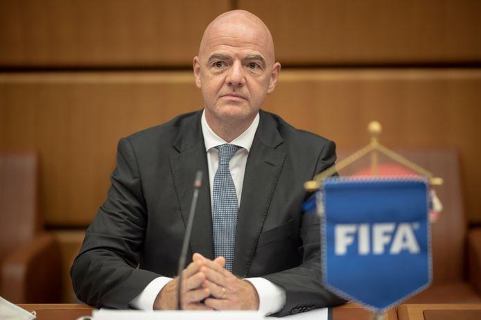 De FIFA van voorzitter Gianni Infantino (foto) kwam naar buiten met het transferrapport van januari.
