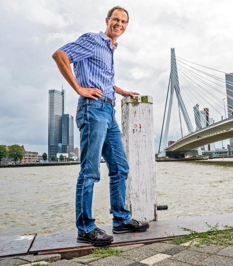 Aan de wieg van een icoon: Marcel is zijn hele loopbaan al nauw betrokken bij de jarige Erasmusbrug