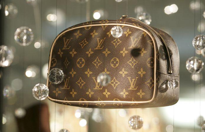 Een Louis Vuitton-tas ter illustratie.