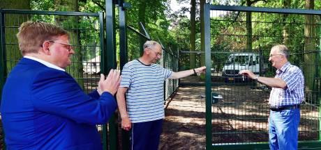 Sleuteloverdracht Halsters hertenkampje extra bijzonder door geboorte nieuw hertje