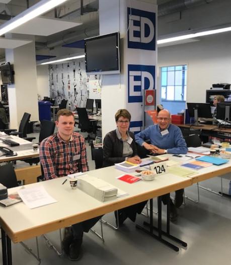 Floris Bleuland, stembureau ED: Interessant en een leuke vergoeding
