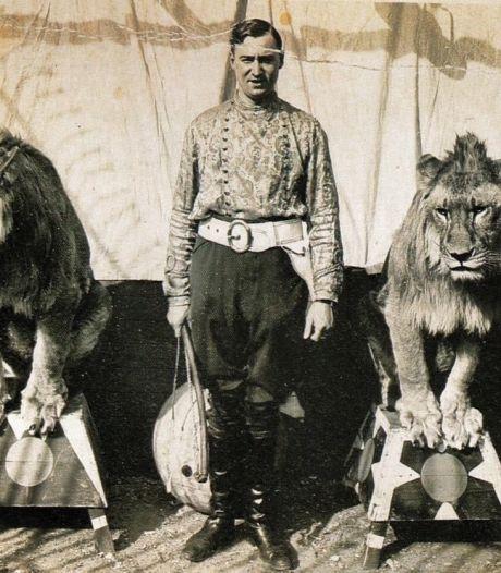 Als de leeuw ontsnapte, kreeg Helmonder Carlo hem weer in het gareel