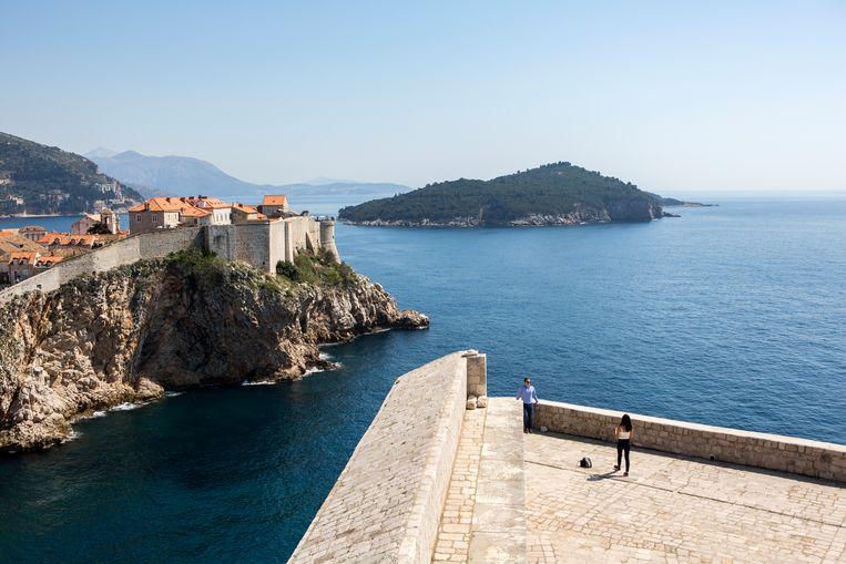 Kroatië laat voorlopig nog geen Belgen toe. Beeld Julius Schrank