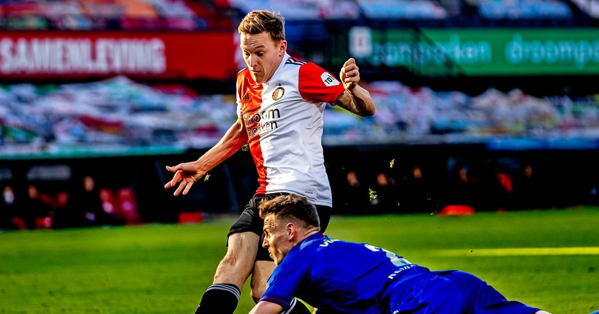 Toornstra weer de man bij Feyenoord, maar is er straks plek voor hem onder Slot? - AD.nl
