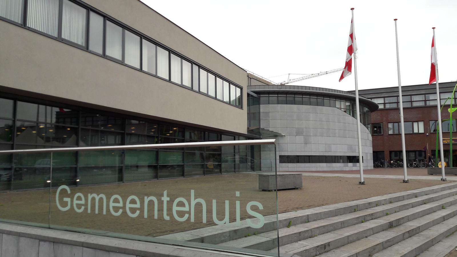 Het gemeentehuis van Bernheze, in Heesch.