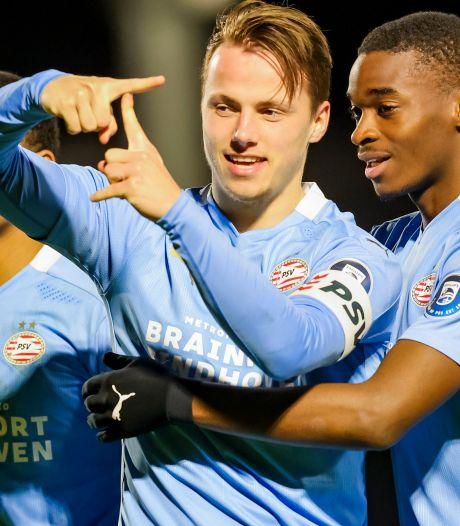 Trotse vader en voetballer Tijn Daverveld broedt op zijn doorbraak bij PSV