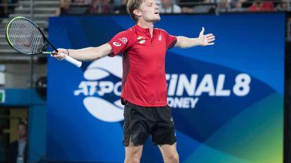David Goffin blijft elfde op wereldranglijst, Nadal ziet voorsprong op Djokovic slinken