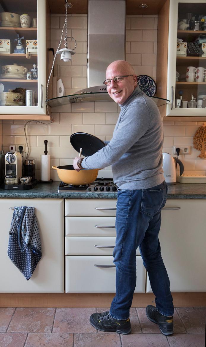 Hans Peter Klazenga: ,,Ik ben wars van regels, maar koken doe ik precies volgens het recept.''