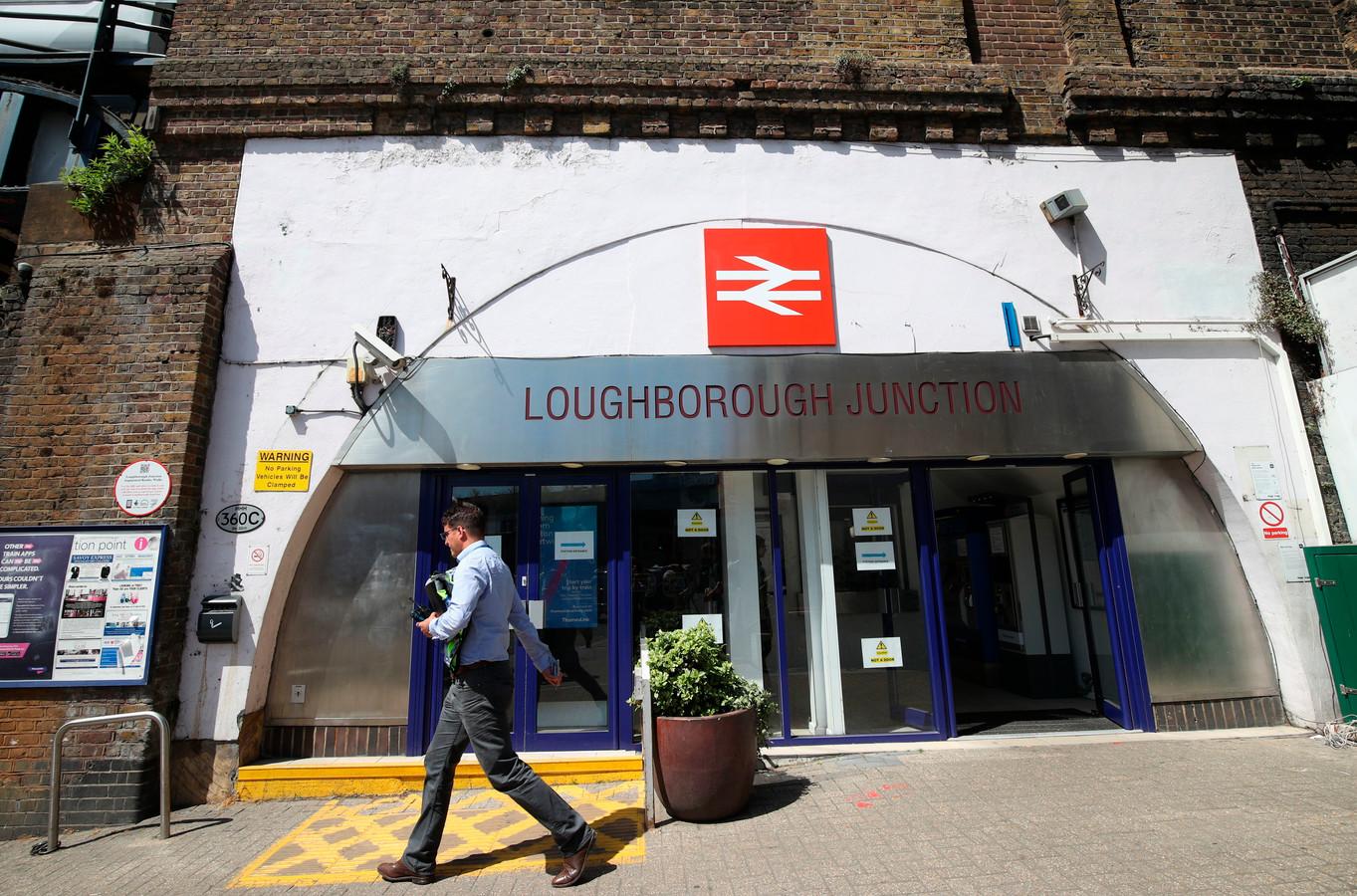Station Loughborough Junction in het zuiden van Londen
