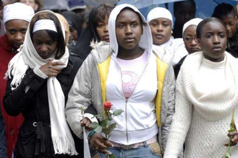 Er komt geen bijkomend onderzoek naar het verwantschap met de vermoorde Oulematou Niangadou. Beeld UNKNOWN