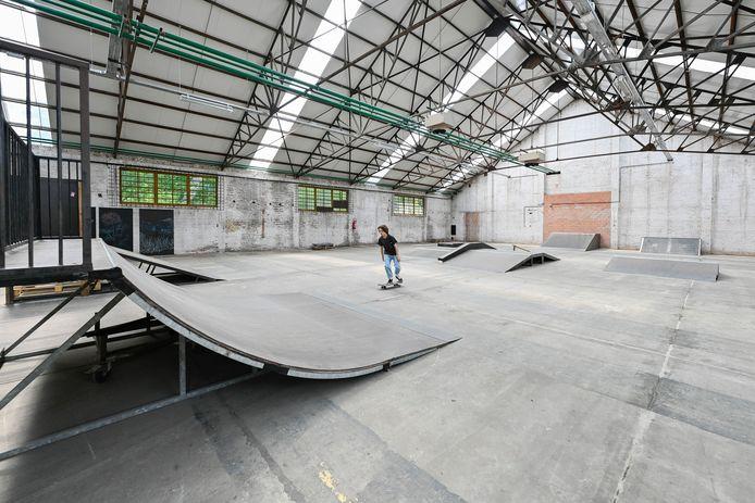 Pop-up skatepark in Mortsel.