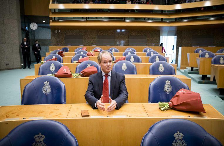 SP-corryfee Van Bommel uit zijn kritiek op de campagne. Beeld null