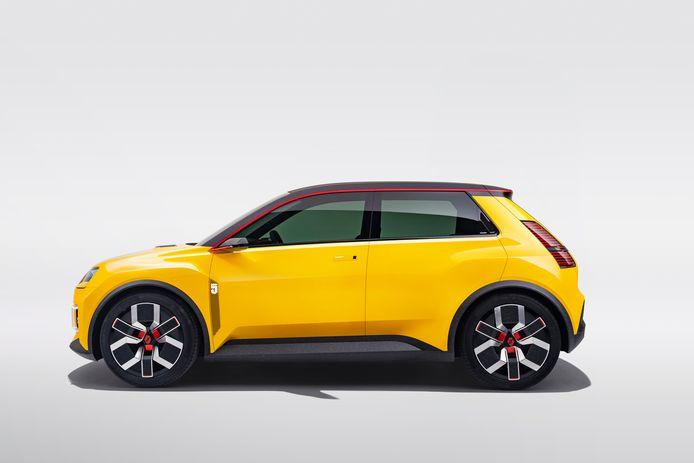 De beroemde Renault 5 keert terug als elektrische auto