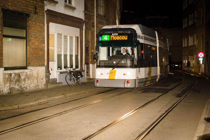 Tram 4 rijdt al sinds 2017 niet meer tot aan de eindhalte in Moscou