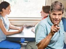 Niemand wil in de trein een gesprek horen over iemands eierstokken