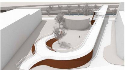Eerste beeld van nieuwe fietsersbrug over de Dender ziet er veelbelovend uit