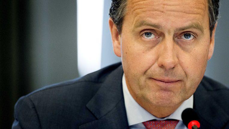 Voormalig president-directeur van de NS Timo Huges. Bij de NS sprak met van fraude, niet van corruptie, constateert Ger Groot. Beeld ANP