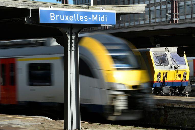 - Werken in Brussel - Zuid - Travaux à Bruxelles - Midi    14/10/2019 pict. by Didier Lebrun © Photo News Beeld Photo News