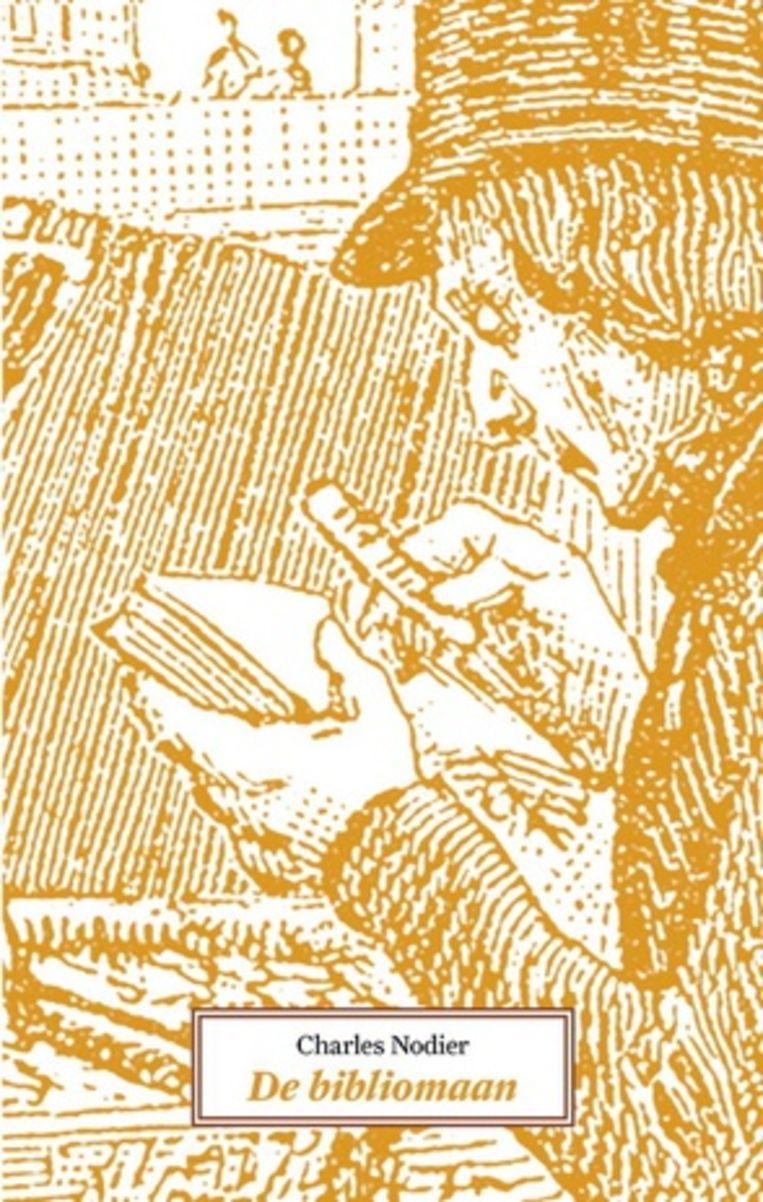 Charles Nodier: De bibliomaan.  Beeld Stichting Desiderata